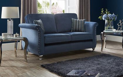 Blue Light Blue Navy Blue Sky Blue And More Fabric Quality Sofas Spread The Cost With Up To 4 Years Interest Free Credit 0 Apr For Sale Up To 50 Off Scs