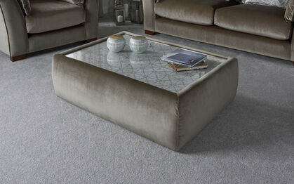 Cosmo Glass Top Coffee Table