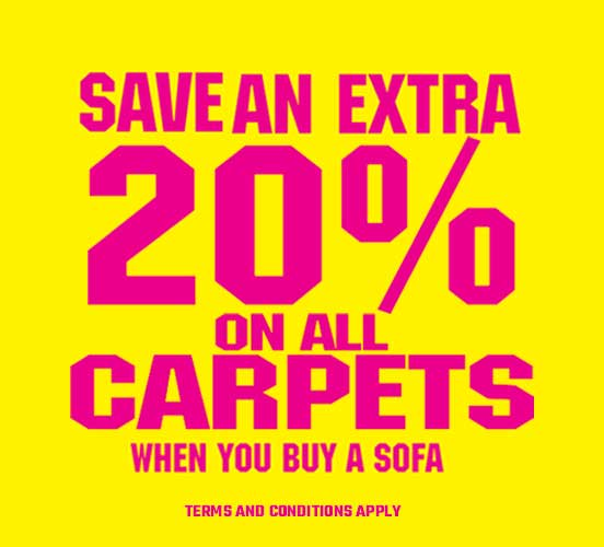 20% off carpets