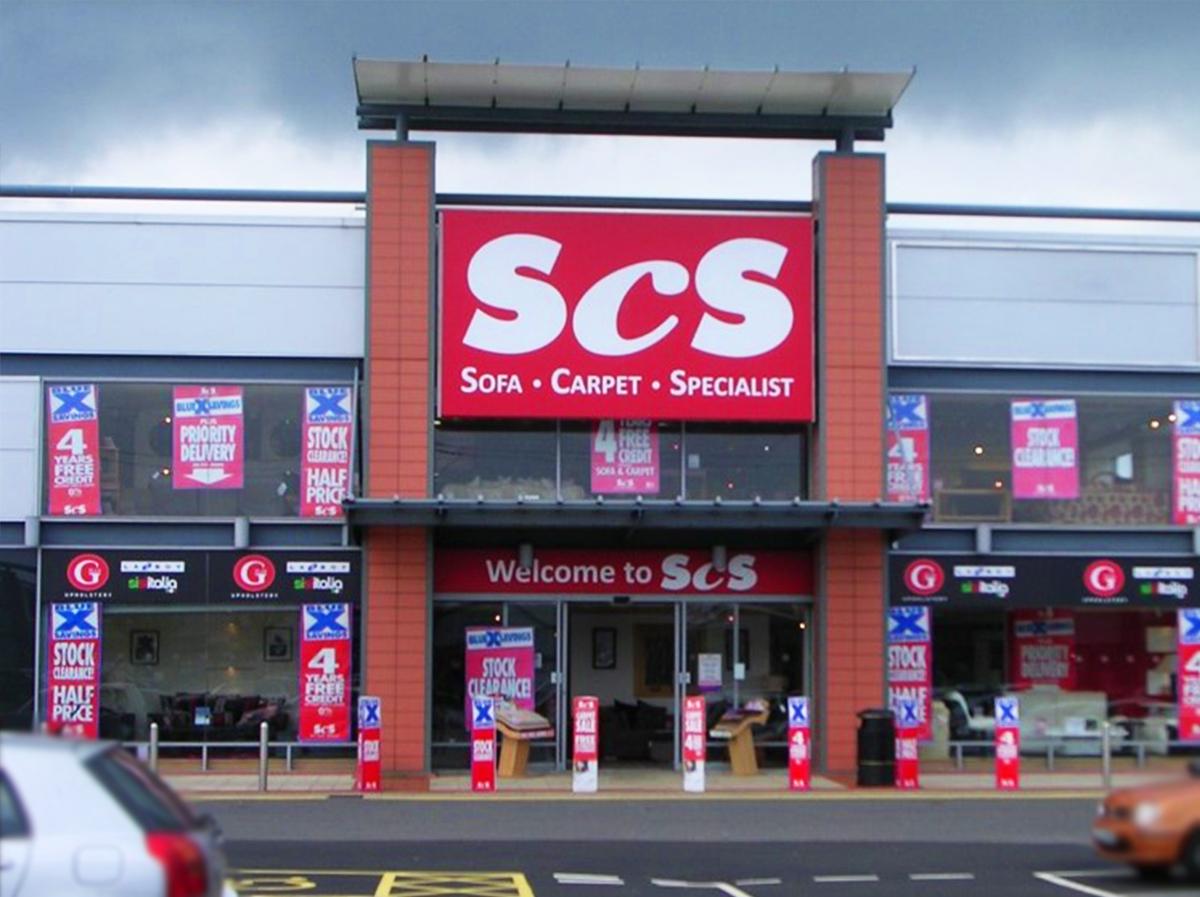 ScS Sofa Store in Glasgow