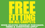 Better Than Half Price Fitting On Carpets