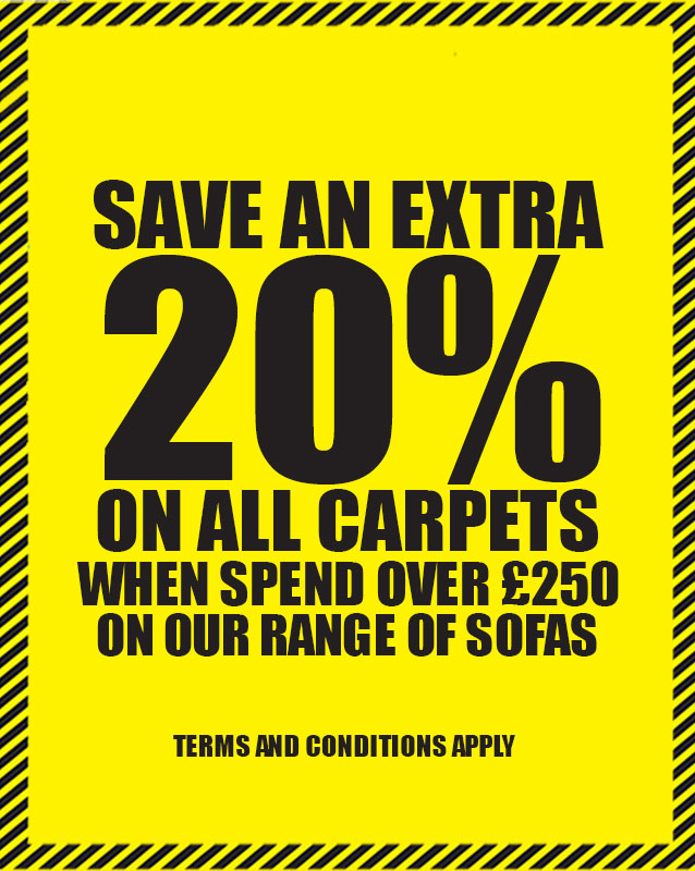 Save 20% on Carpet Orders