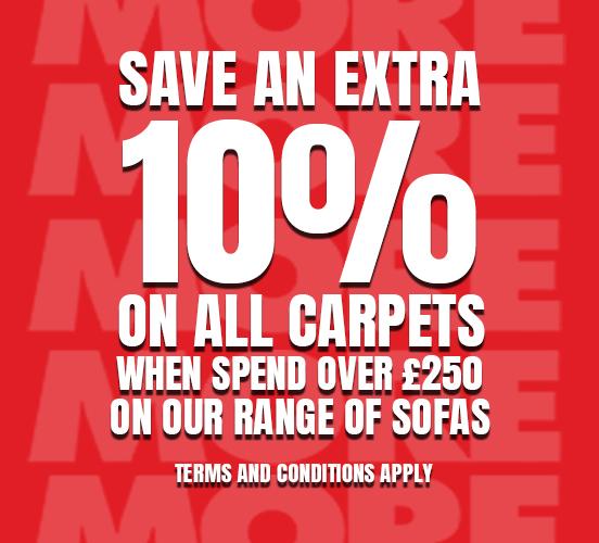 20% off carpets