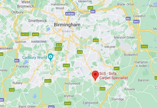 ScS Shop in Solihull - Solihull Retail Park, Birmingham