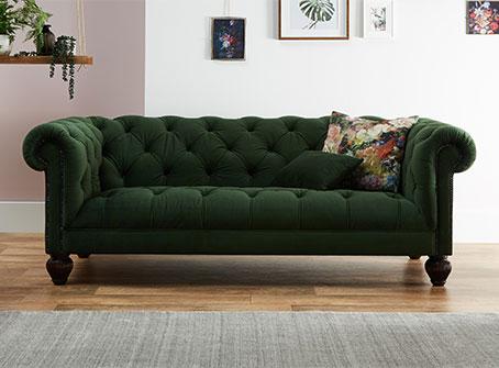 Tetrad Savanna Velvet Sofa