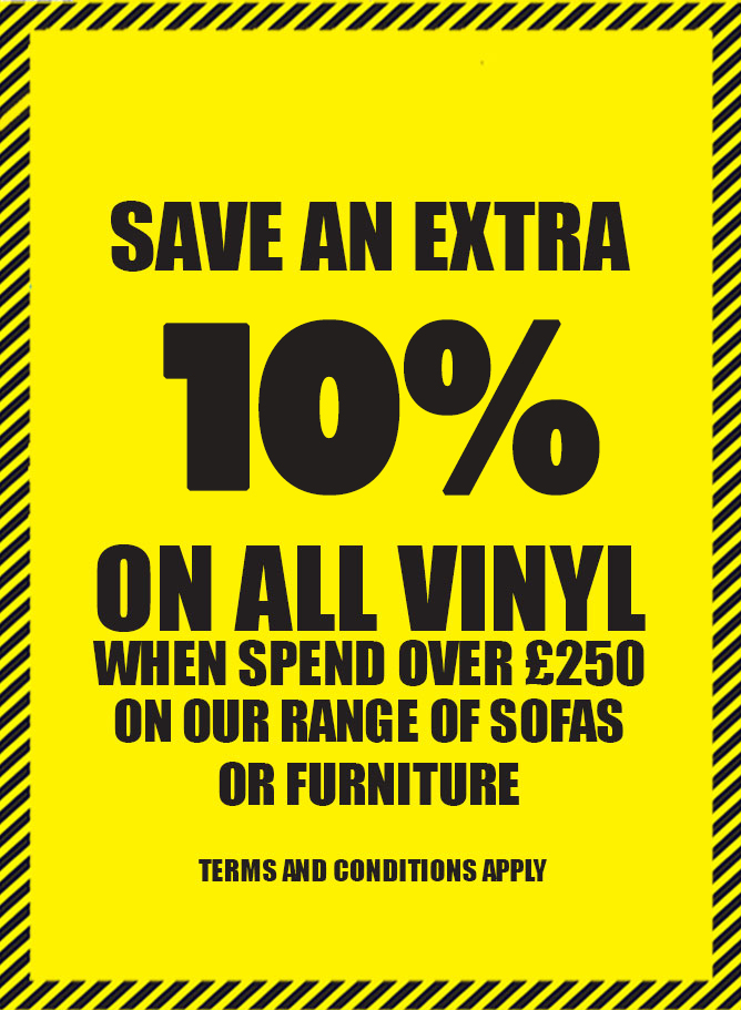 Save an Extra 20% on All Vinyl Orders
