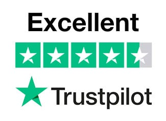 trustpilot excellent rating icon