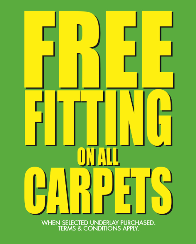 Free Fitting on All Carpets
