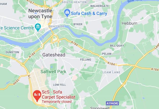ScS Shop in Gateshead - Team Valley, Newcastle