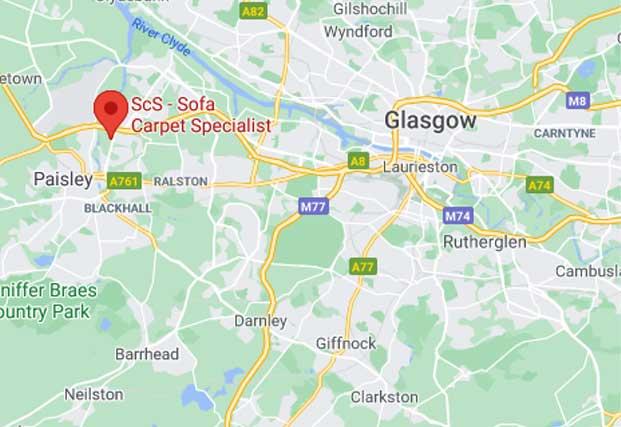 ScS Shop in Paisley - Abbotsinch Retail Park, Glasgow