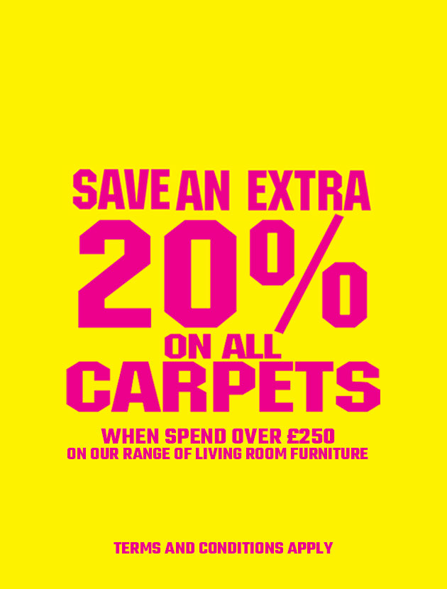 Save an Extra 20% on All Carpet Orders
