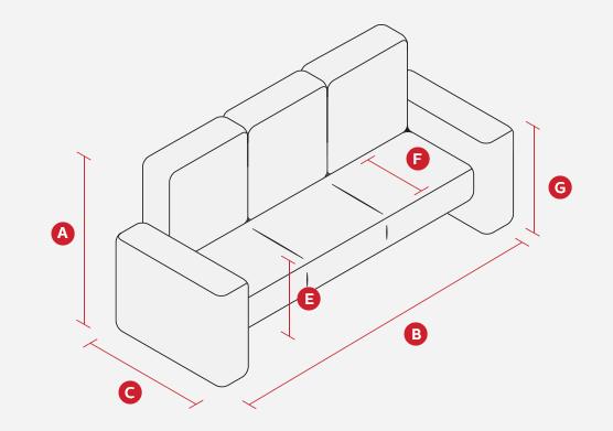 sofa buying guide scs rh scs co uk sofa seat depth 21 sofa seat depth 30