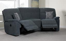 La-Z-Boy Alabama 4 Seater Compact Curve Power Recliner Sofa
