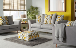 Zeus 2 Seater Sofa Standard Back, , small
