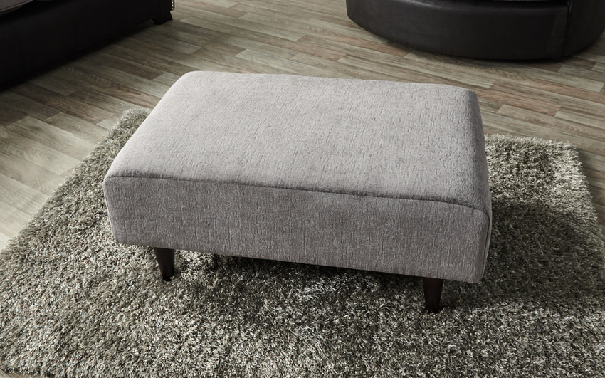 Evisa Accent Footstool - Plain
