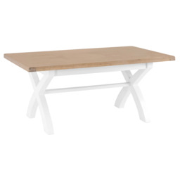 Harper 1.8m Fixed Top Dining Table, , small