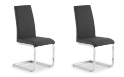 Pimlico Pair of Dining Chairs, , small