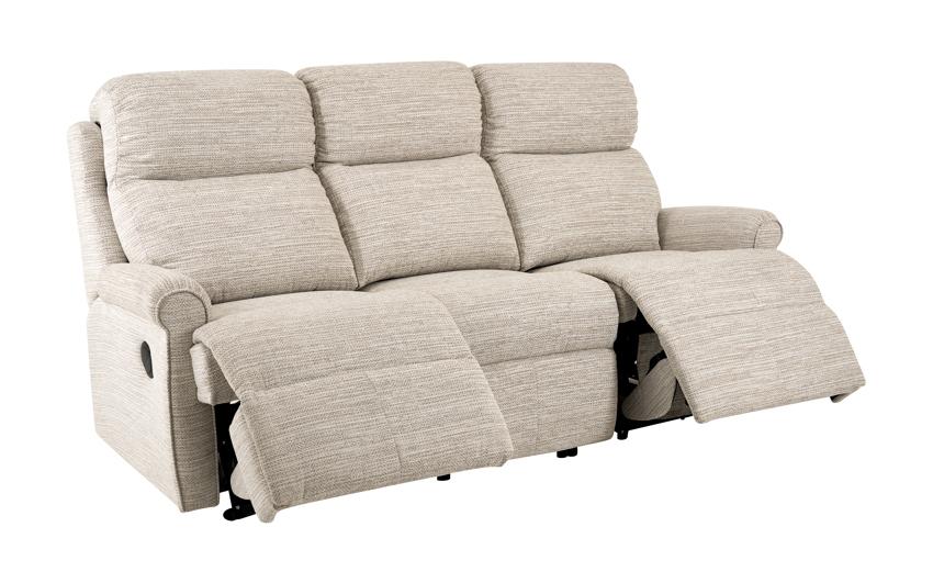 G Plan Newbury 3 Seater Power Recliner Sofa Double