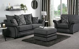 Hallie 3 Seater Sofa Scatter Back, , small