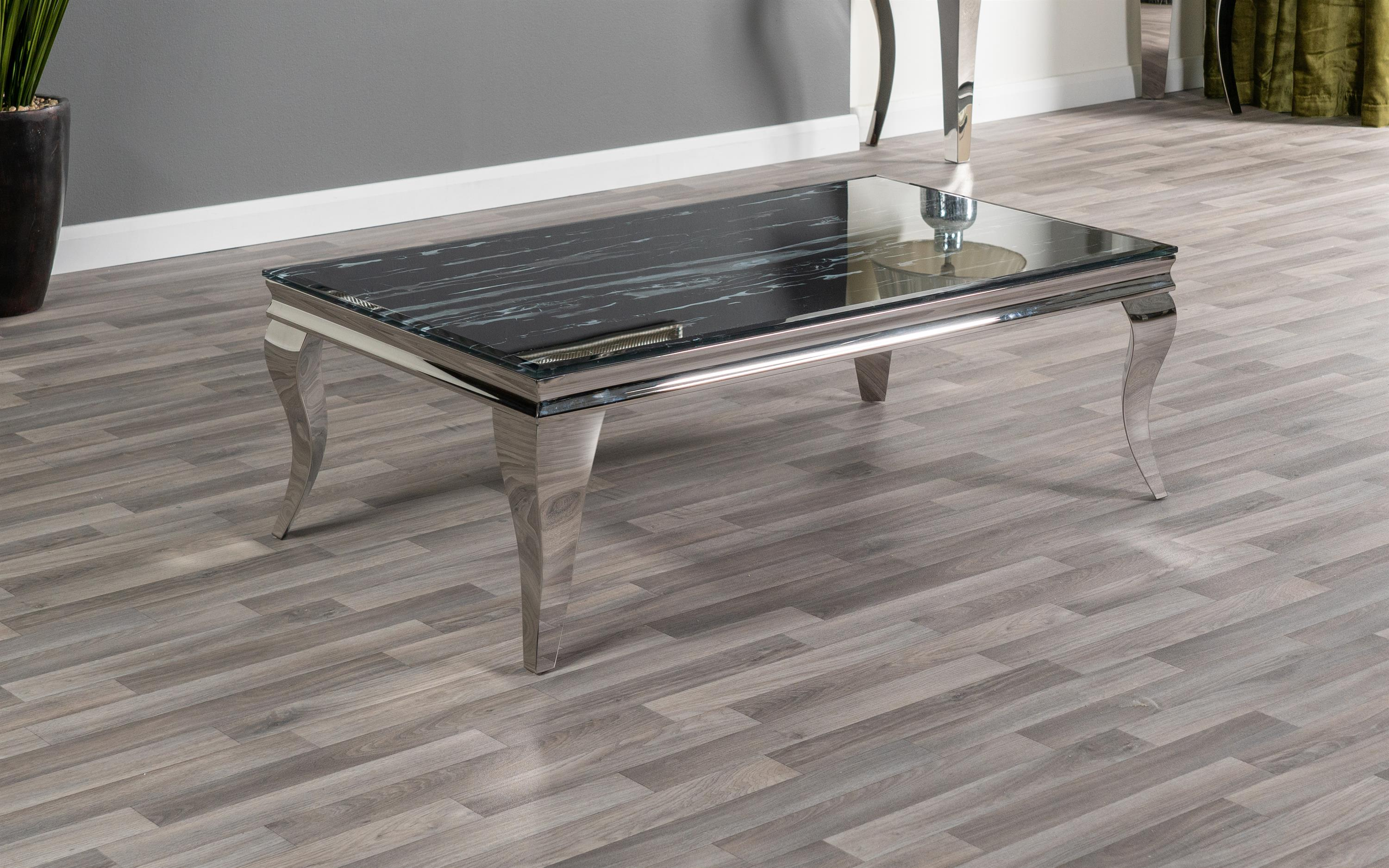 Paris Marble Effect Coffee Table