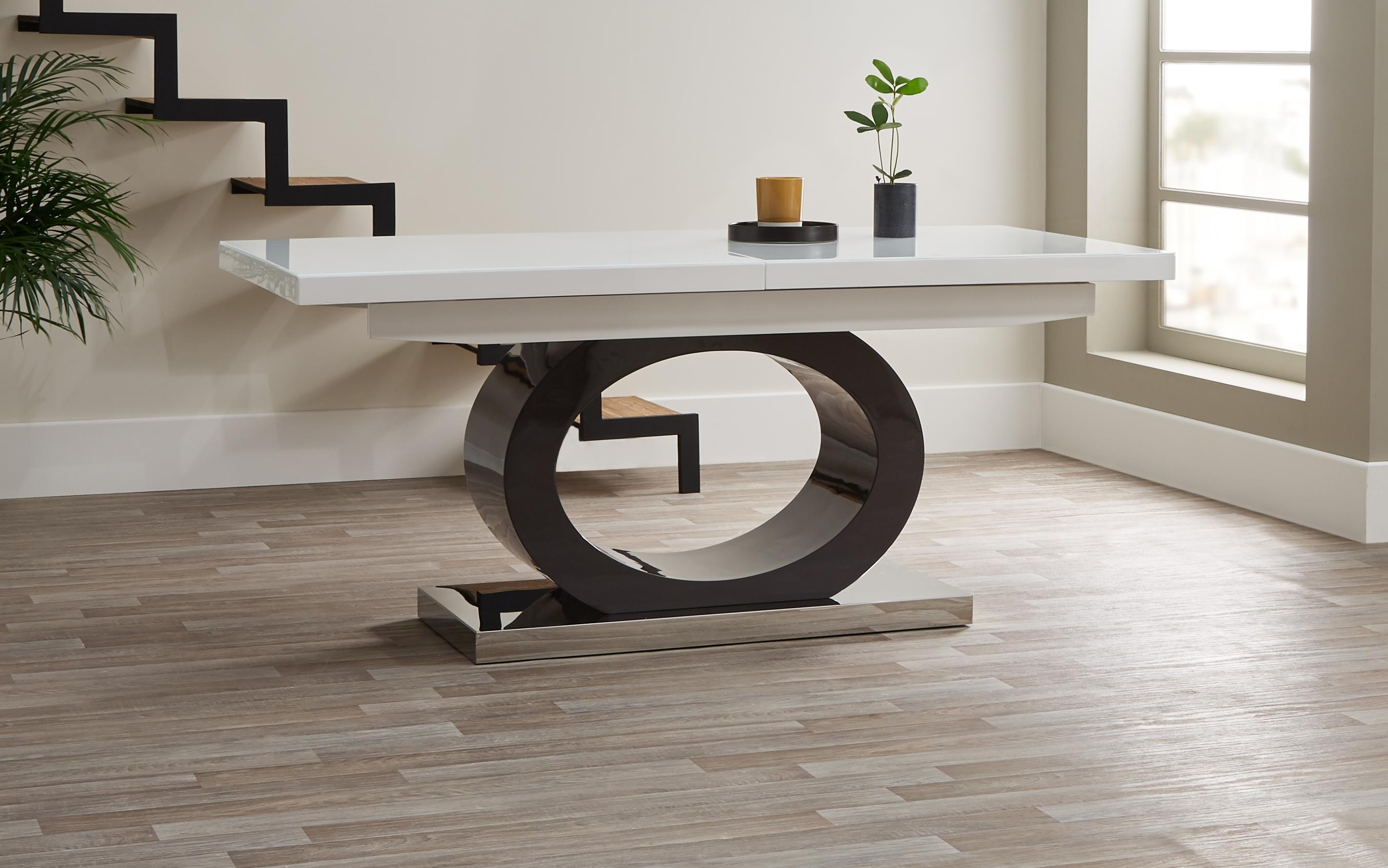 Tokyo White & Grey Dining Table