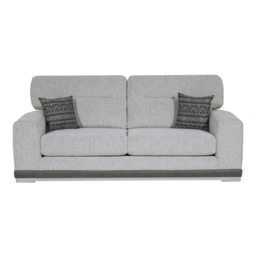 Ariel 3 Seater Sofa Standard Back, Jager Collection Silver/Option 2, small