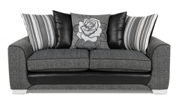 Monty 3 Seater Sofa Scatter Back, , small