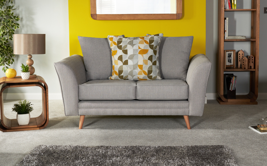 Zeus 2 Seater Sofa Scatter Back