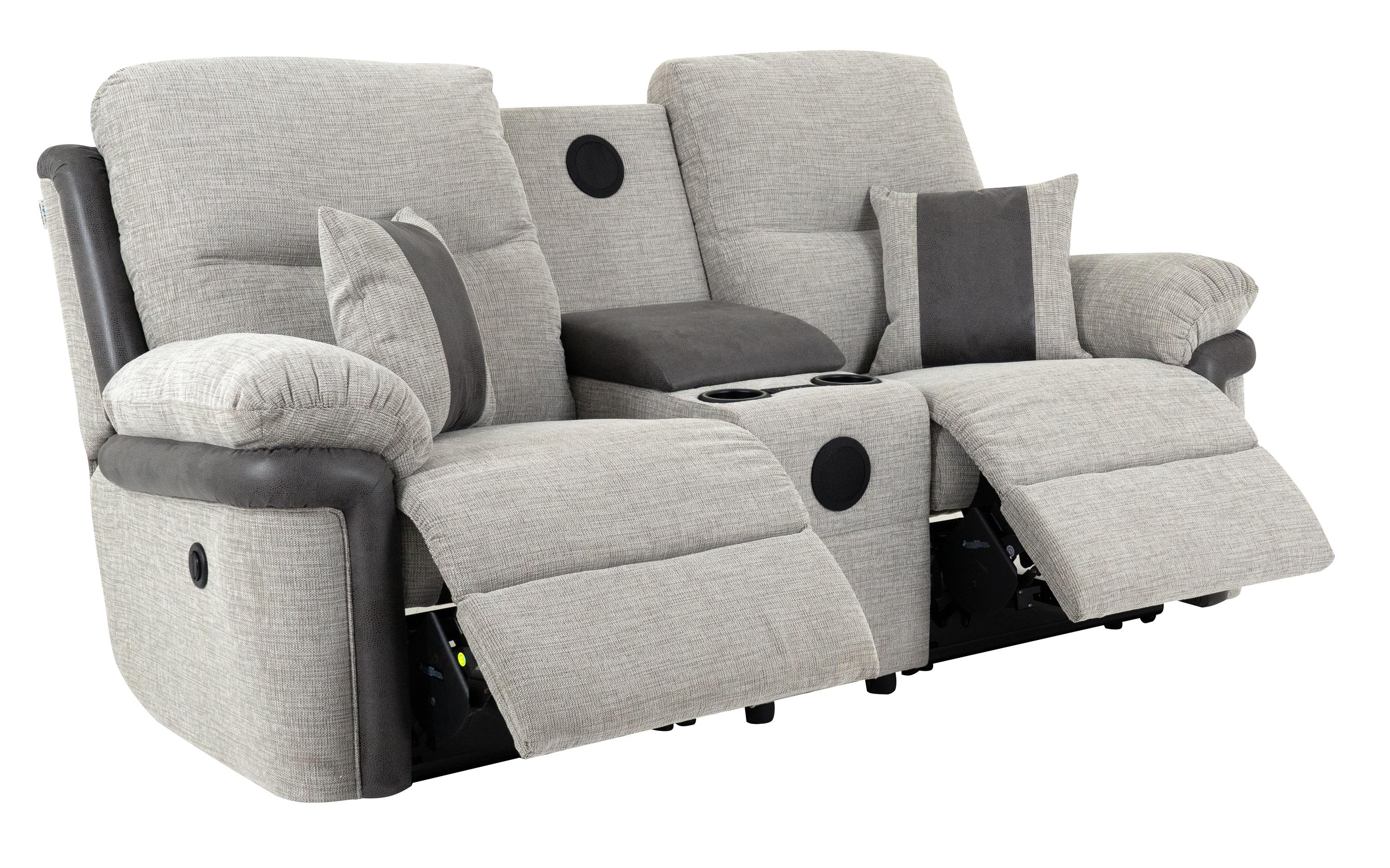 La-Z-Boy Nevada 2 Seater Power Recliner Sofa With Sound, , large
