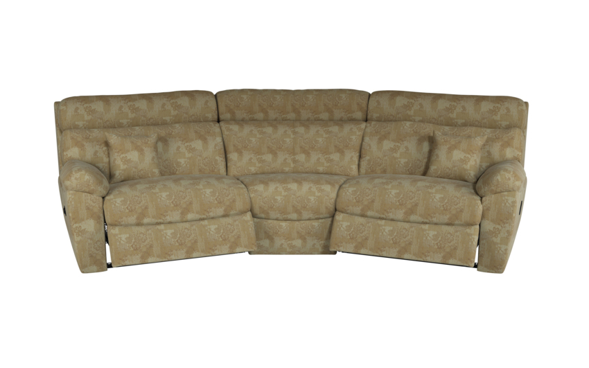 Cloud 4 Seater Curved Power Recliner Sofa
