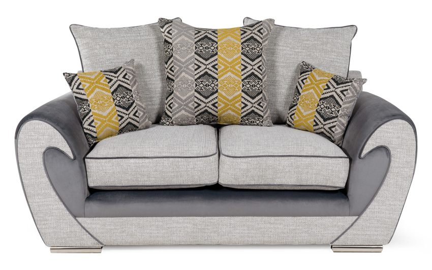 Ailsa 2 Seater Sofa Scatter Back, , large
