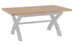 Victoria 1.8m Fixed Top Dining Table, , small