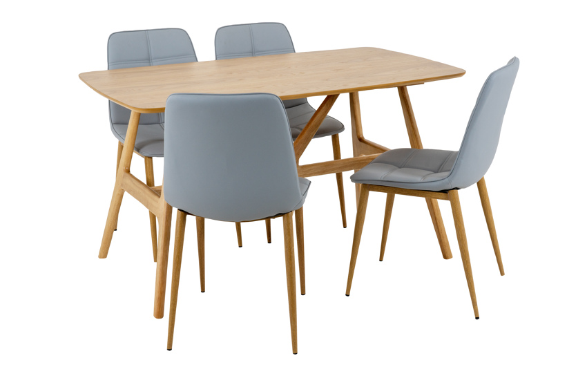 Torino Dining Table & 4 Chairs, , large