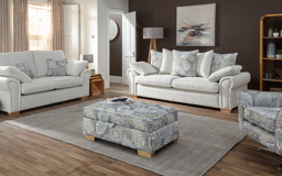 Inspire Westwood 3 Seater Sofa Bed Pocket Sprung Scatter Back, , small
