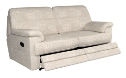 G Plan Stanton 3 Seater Manual Recliner Sofa Double
