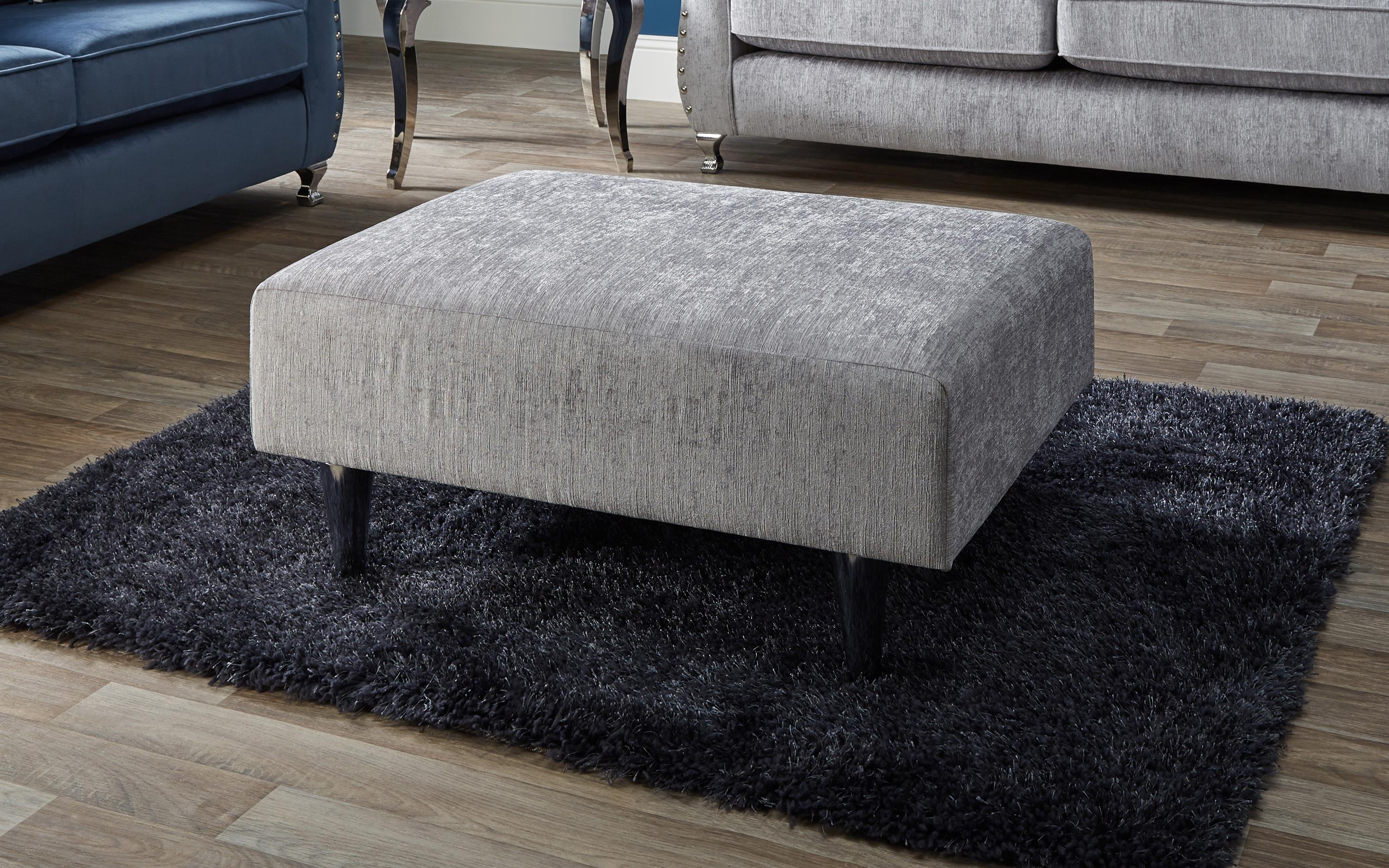 Spark Plain Footstool