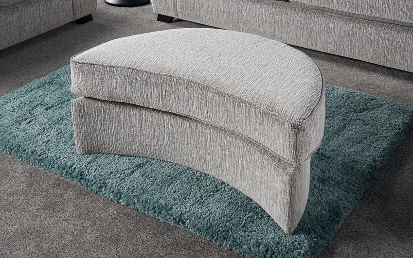 Zachary Large Twister Footstool