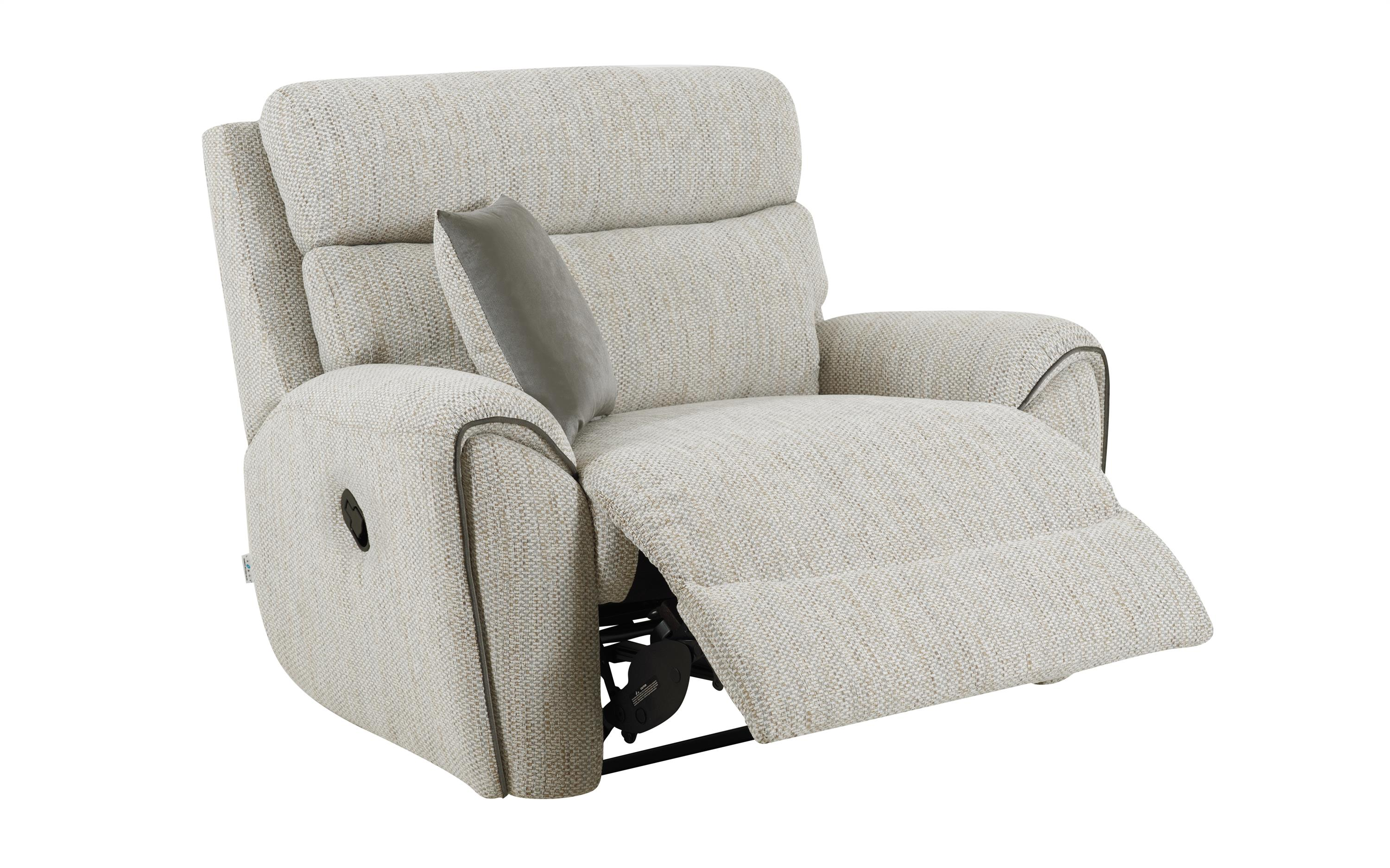 La-Z-Boy Pittsburgh Love Chair Manual Recliner, , large