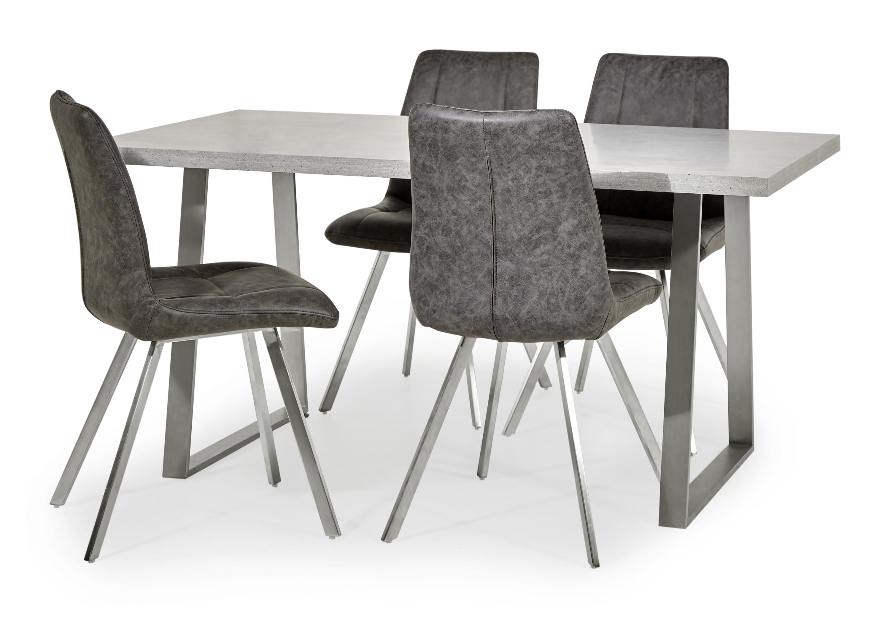 Endurance Diamond Dining Table & 4 Chairs, , large