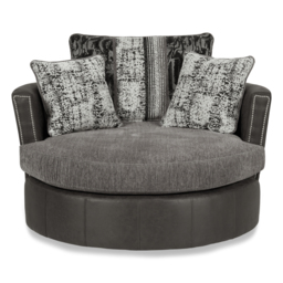 San Jose Twister Chair, Alas Char/Ari Blk/Adr Grey/Tre Grey, small
