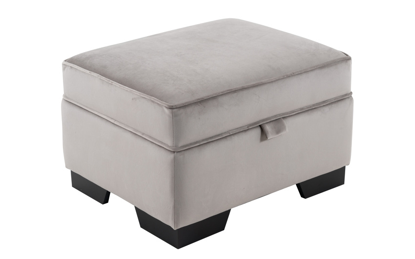 Portofino Storage Footstool, , large