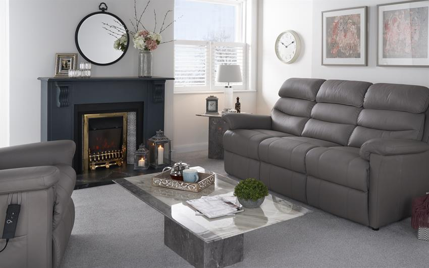 La-Z-Boy Tulsa 2 Seater Power Recliner Sofa, , large
