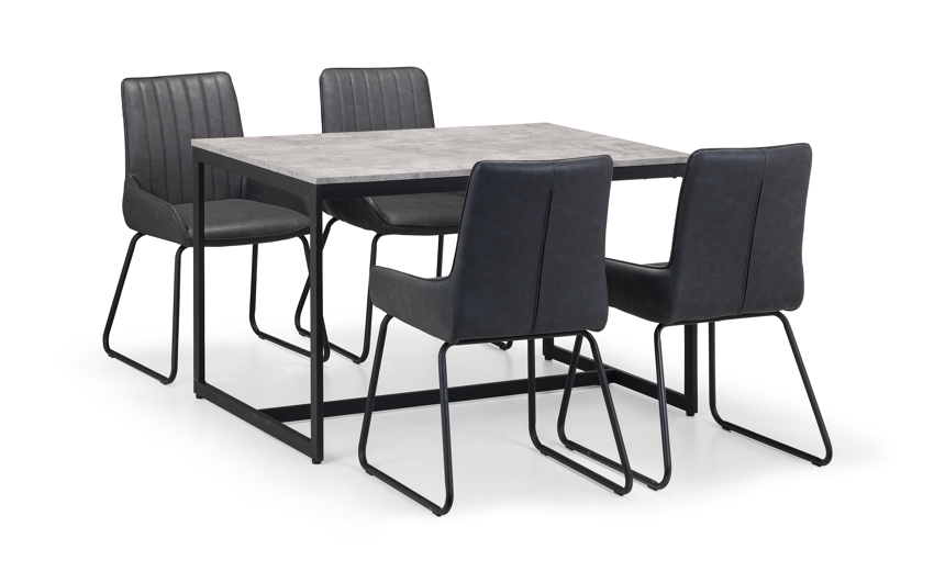 Warwick Dining Table & 4 Chairs, , large