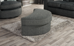 Quinn Large Twister Footstool, , small