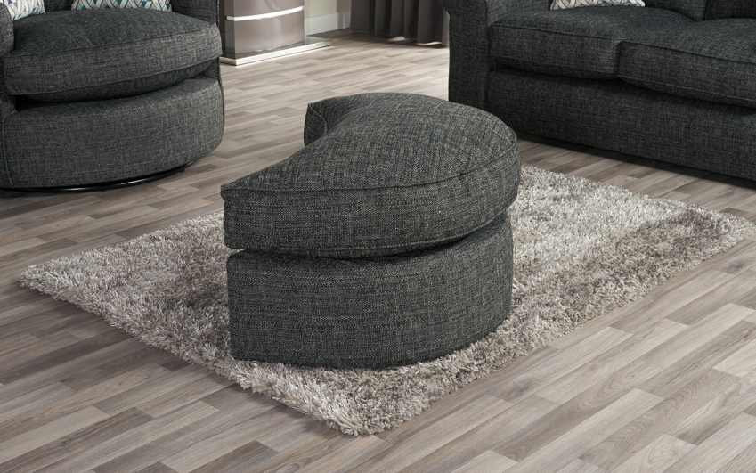 Quinn Twister Footstool
