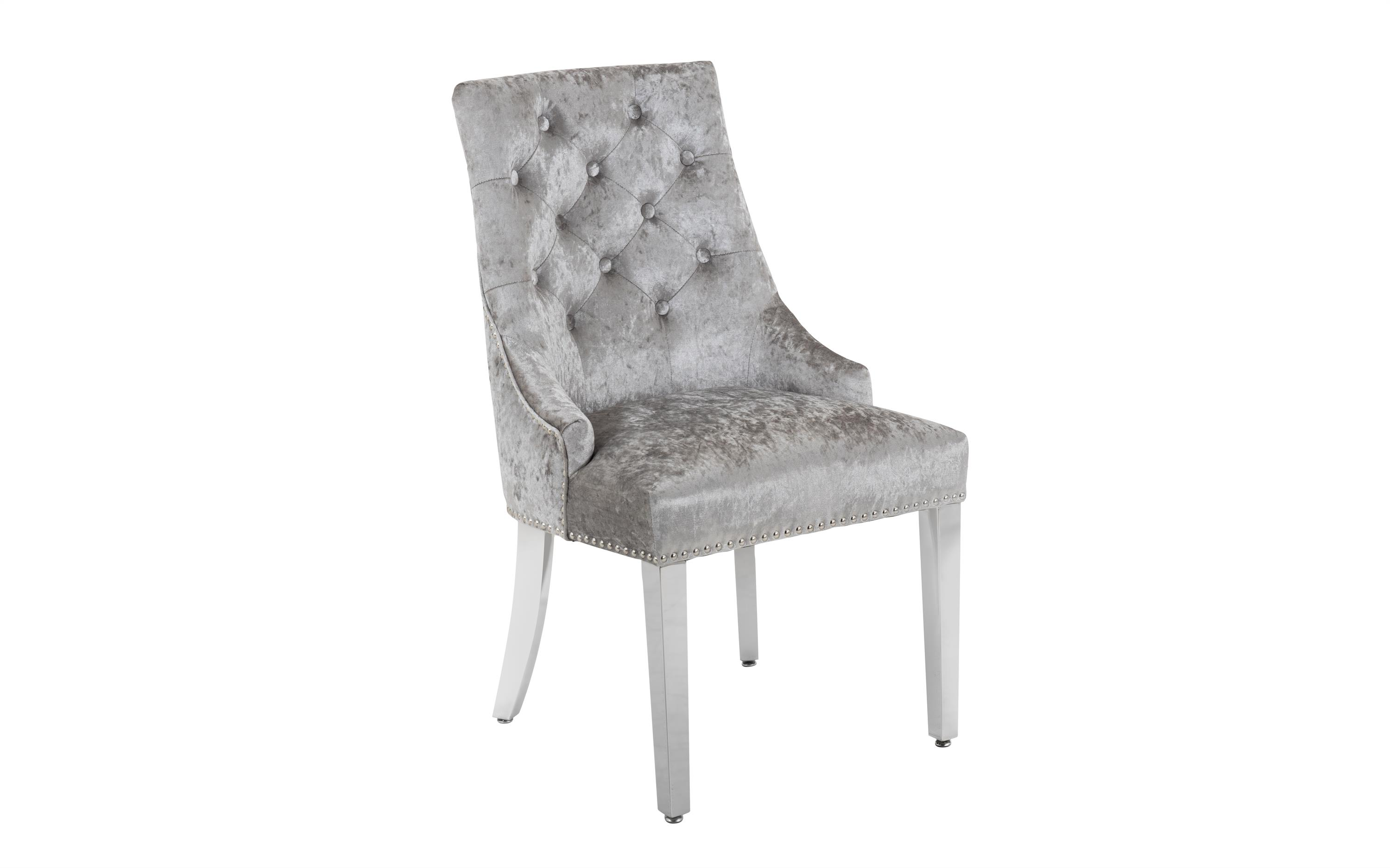 Paris Silver Dining Chair, , large