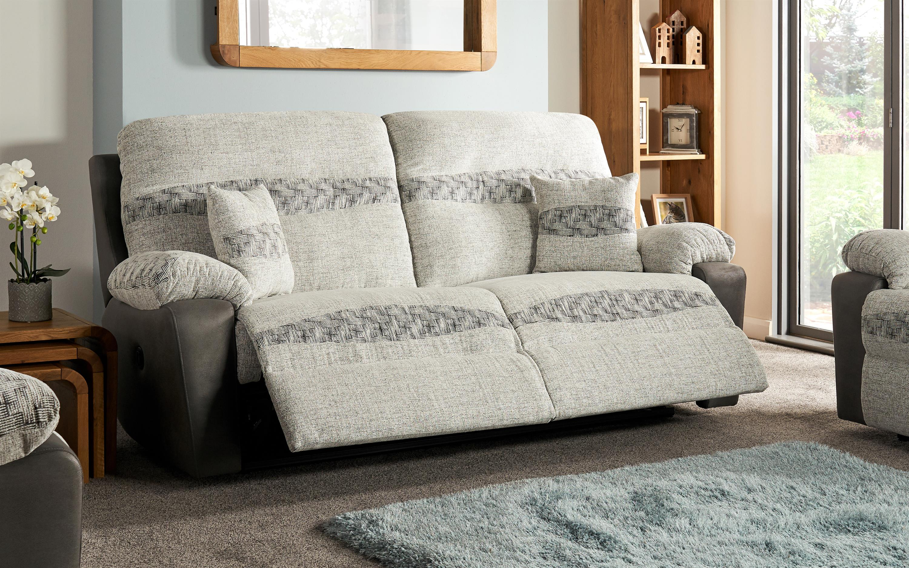 Cayman 3 Seater Power Recliner Sofa