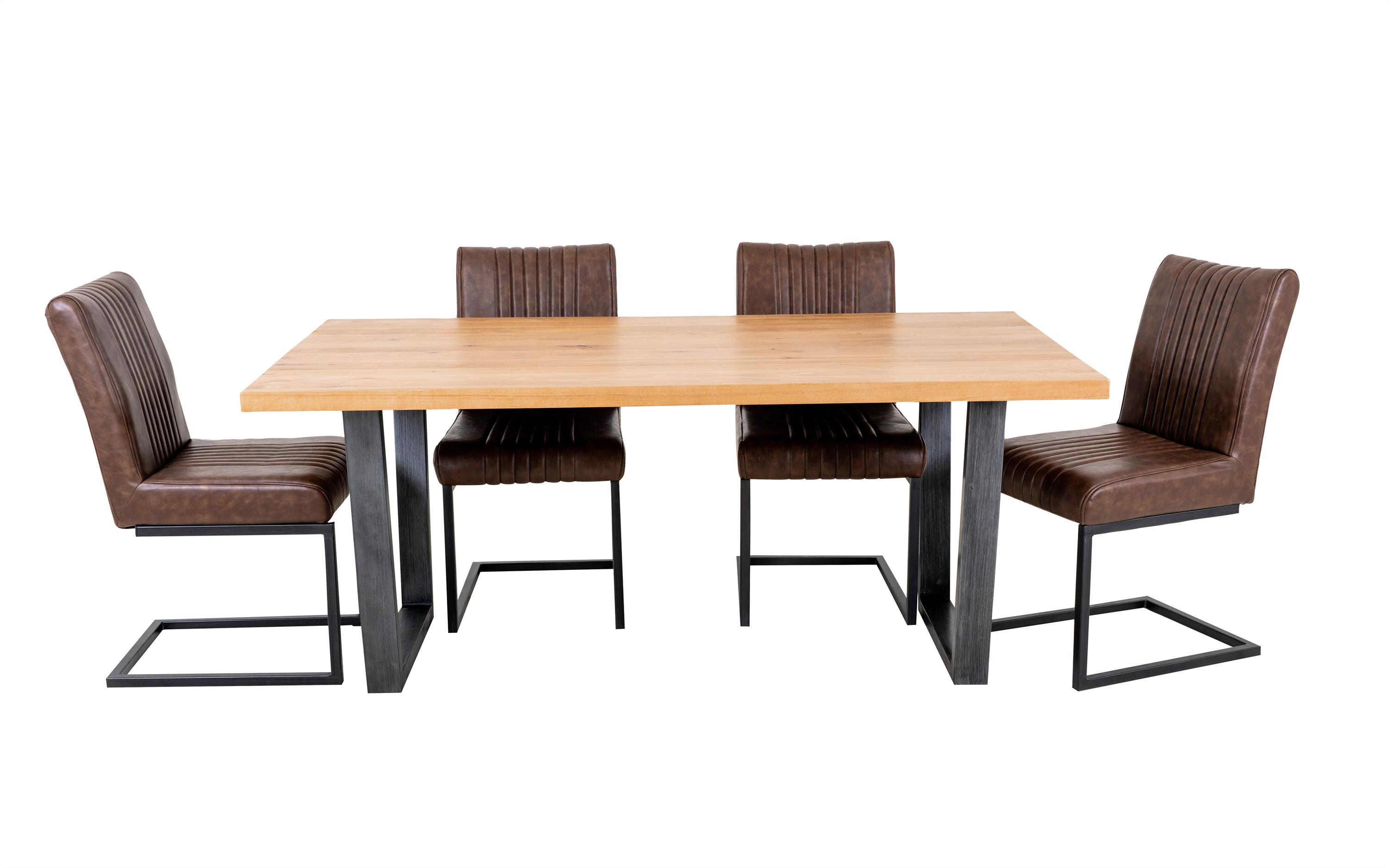 Archie Dining Table and 4 Chairs, , large