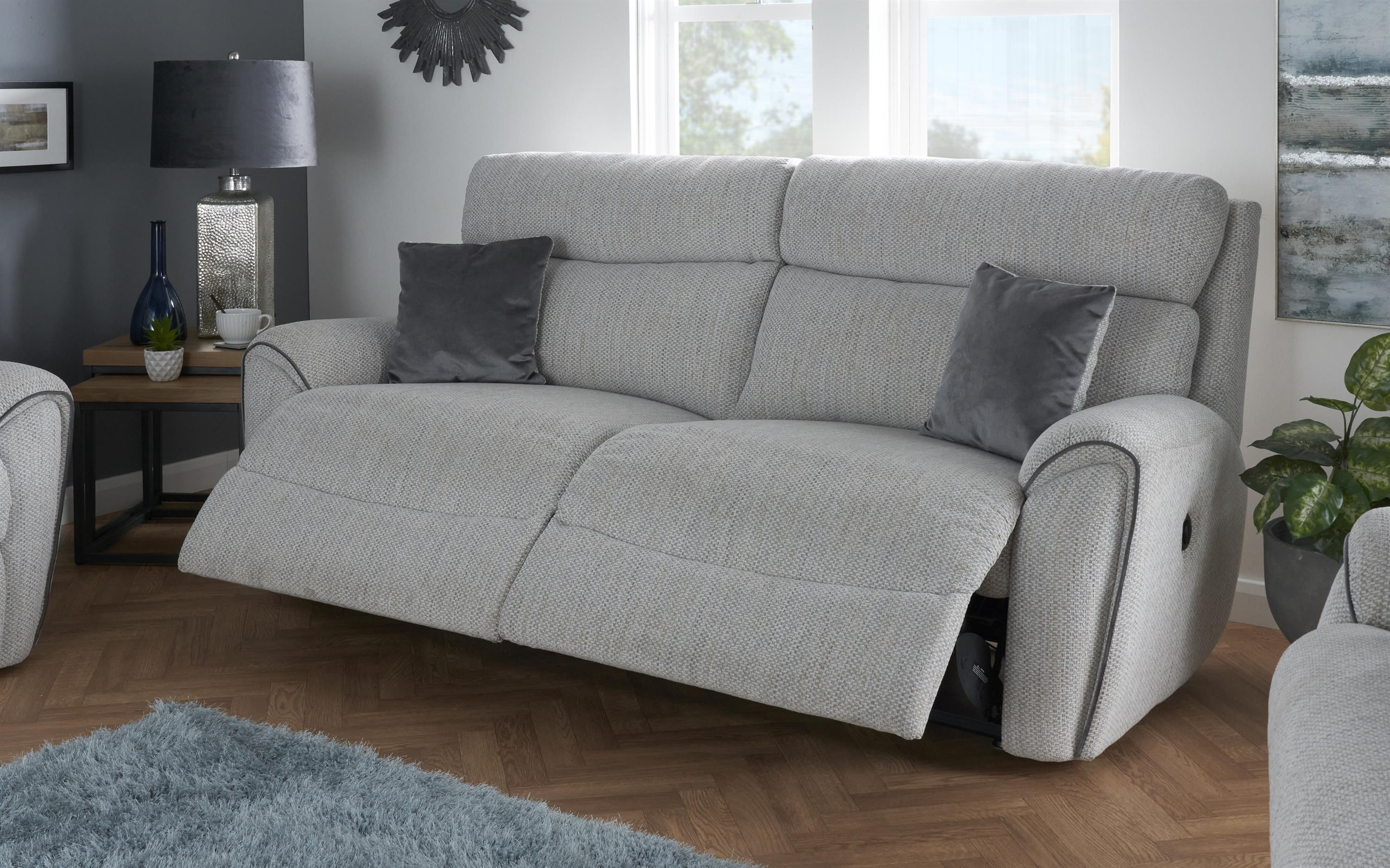 La-Z-Boy Pittsburgh 3 Seater Power Recliner Sofa