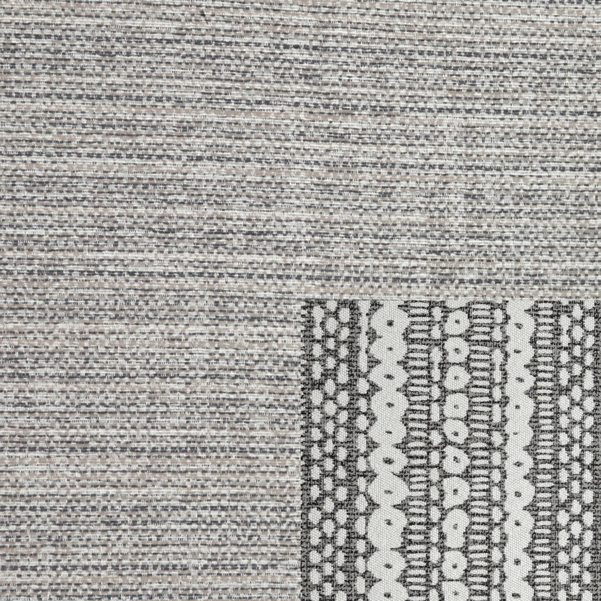 Whisper 1 Corner 2 Standard Back, Tate Grey/Bohor Charcoal, swatch